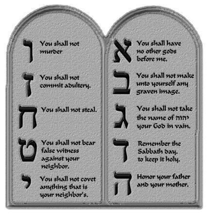 25+ best ideas about Ten commandments in bible on Pinterest ...