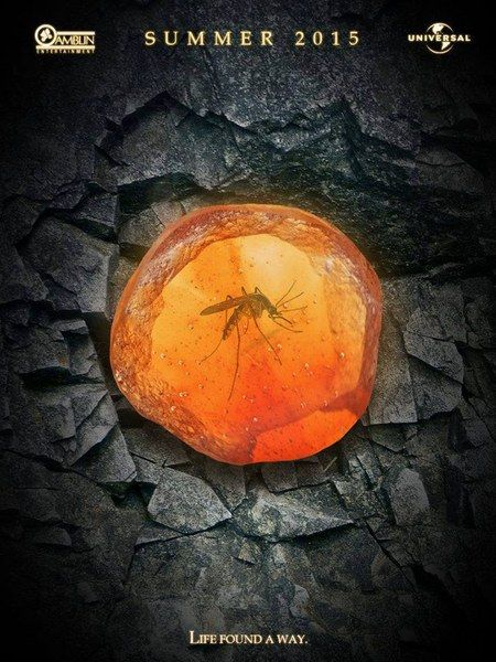 First Look at the Jurassic Park IV Teaser Poster! - Life found a way in this hi-res look at the upcoming sequel directed by Colin Trevorrow.
