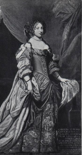 Liselotte von der Pfalz by Georg Poensgen