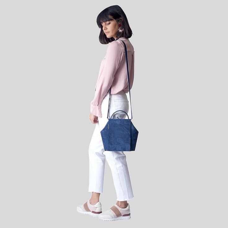 Gaia Large Kintsugi Jean | ONESIXONE Bags