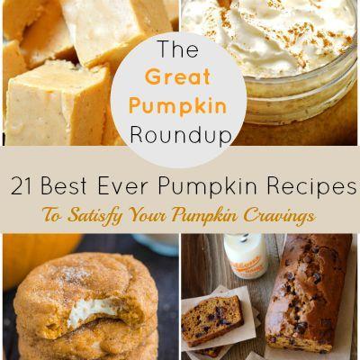 21 Best Ever Pumpkin Recipes