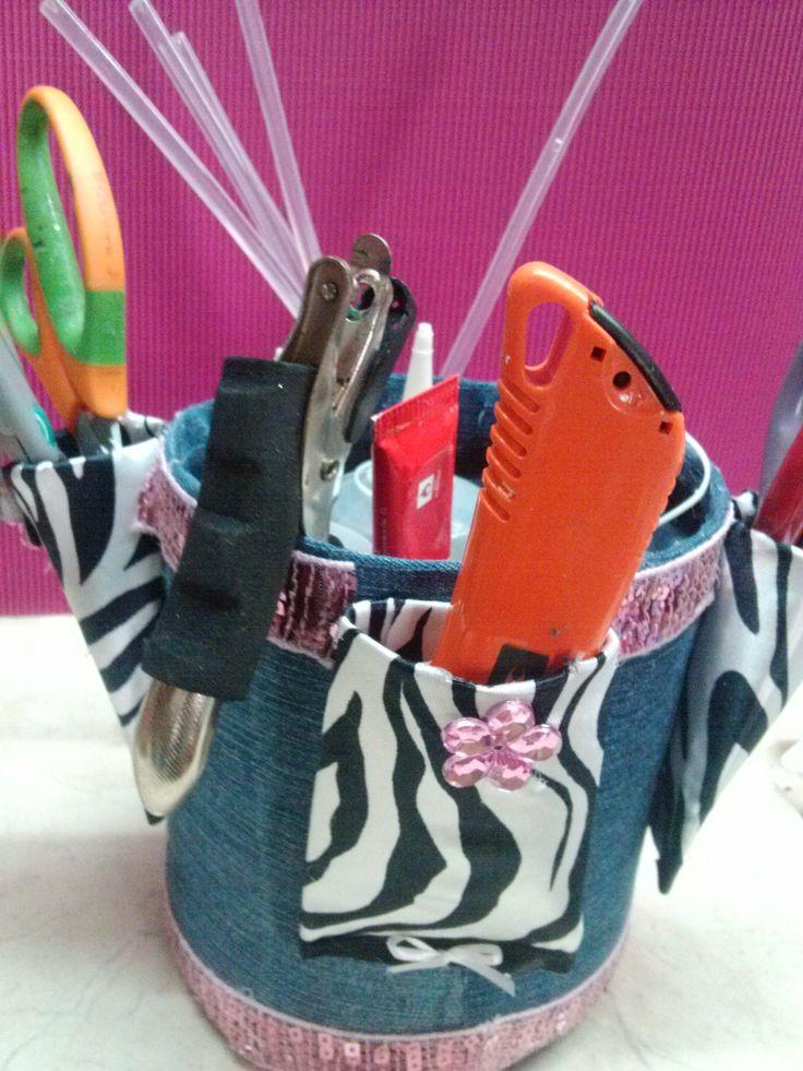 DIY Bote Organizador Reciclado / Organizer with  plastic bottle (+lista ...