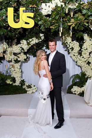 Fergie and Josh's Wedding Day: January 10, 2009