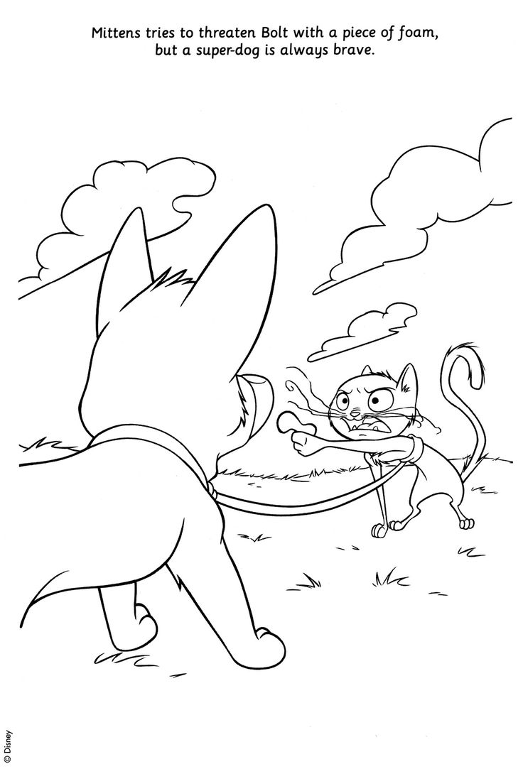 25 best disney bolt coloring pages images on pinterest coloring