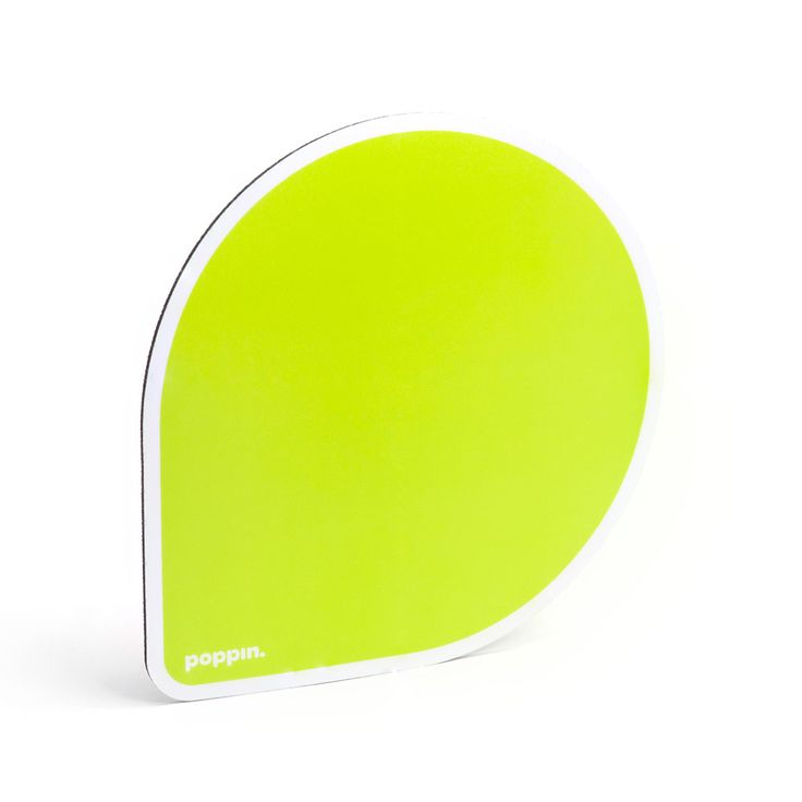 Charming Lime Green Mouse Pad   Cool Office Supplies | Poppin
