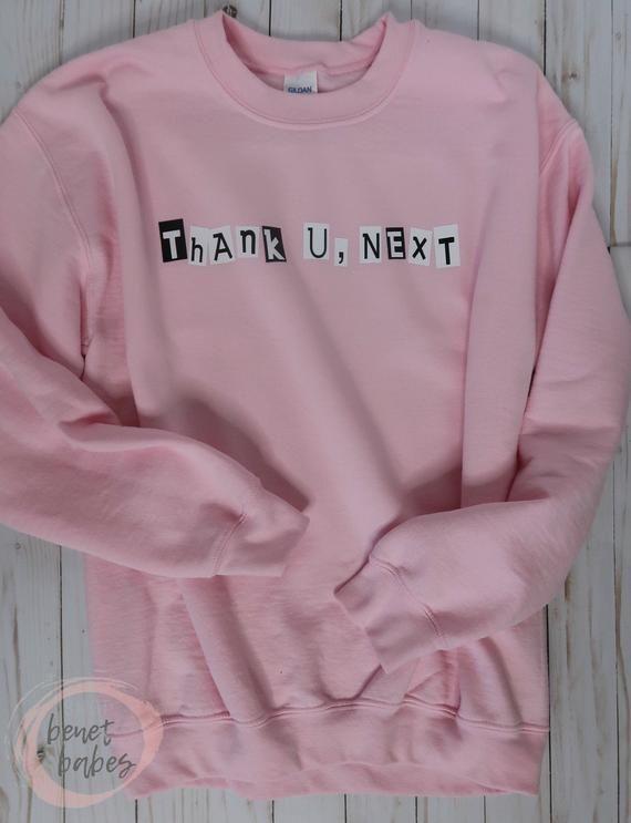 Thank U,Next Sweatshirts Women Men Sport Hoodie Casual Sweater Unisex Pullover