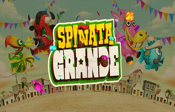 SPIÑATA GRANDE - THE #COLORFUL #PARTY FOR YOUR ONLINE #SLOTMACHINE PLEASURE!