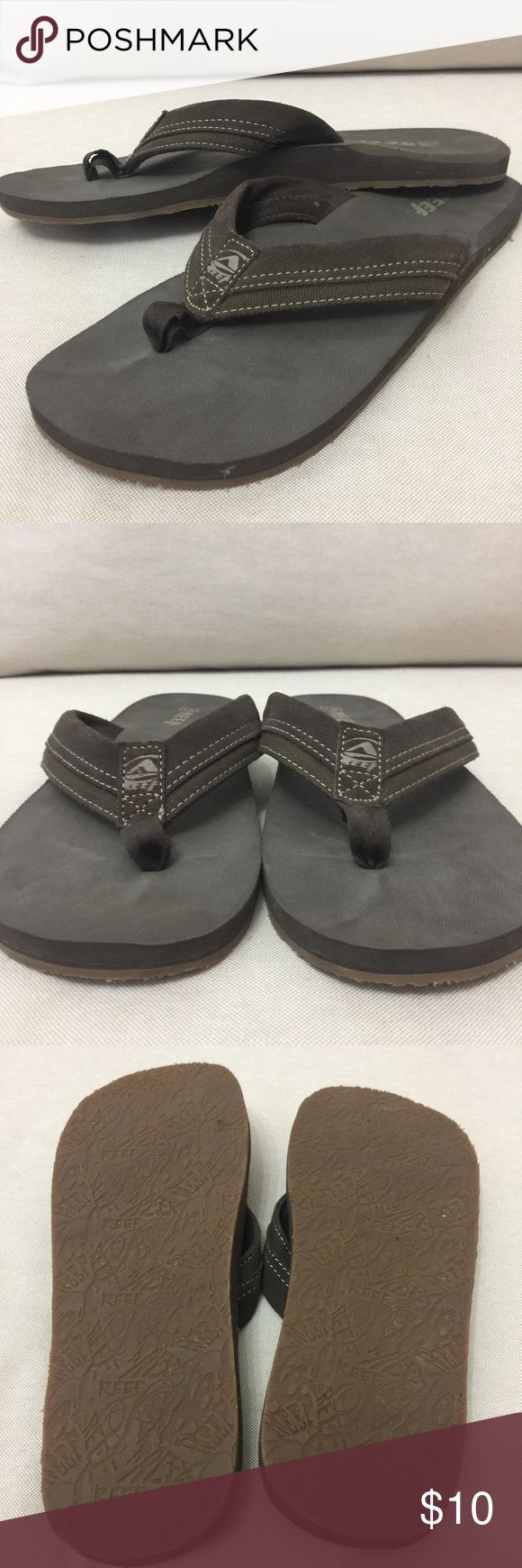 Mens Reef flip flops Very little signs of wear GREAT Condition Reef Shoes Sandals & Flip-Flops
