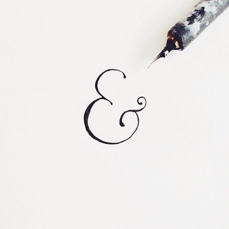what if the ampersand is part of the brand? a changing element? just an idea...