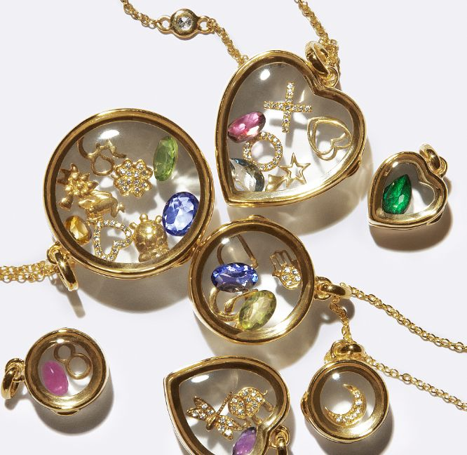 Unique locket that you can fill with charms. So cool and classy. (loquetlondon.com)