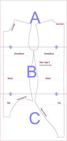 PATTERN MAKING-APPAREL FREELANCER STYLES -TEXTILE DESIGN-CAD TRAINING METHOD: LEOTARD SEWING PATTERN - FREE DOWNLOAD