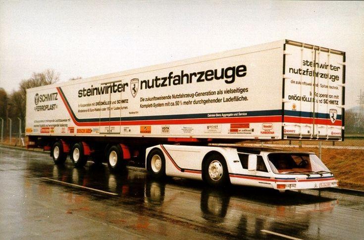 Tento supersport mezi tahači měl přepsat historii kamionů, nezměnil nic - 2 -