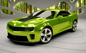 I feel a mid life CRISIS coming on....  LOL---This could be my 3rd Camero.  Love the color!!!  WOW!