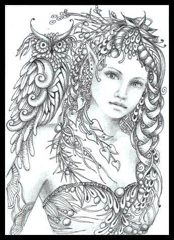 fairy tangles minerva by norma j burnell fairy myth mythical mystical legend
