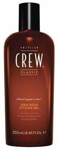 Free Shipping Go to Store  Non-flaking formula.  American Crew Firm Hold Styling Gel, the ultimate in holding power, is enriched with natural extracts like Vitamin B5 to help hair look thicker with added shine. This... More Details