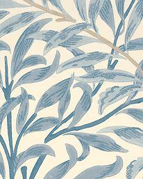 Tapet Willow Boughs Blue från William Morris & Co