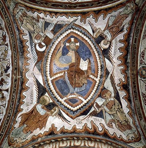 Pantocrator, San Isidoro de León, Spain