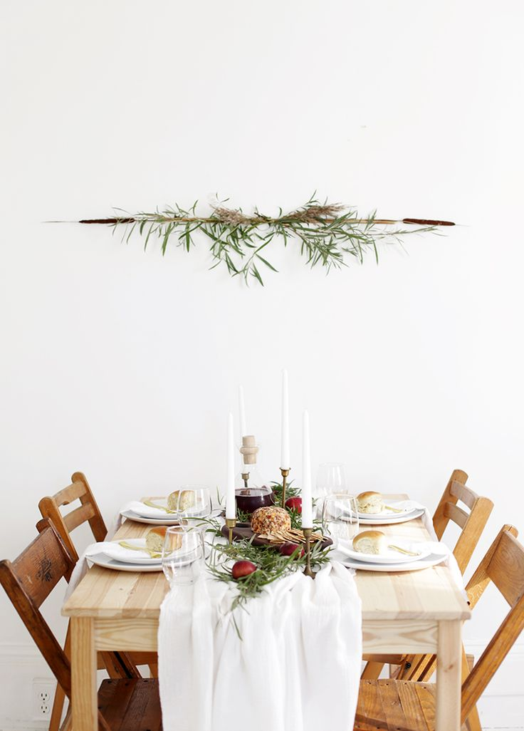 Simple Foraged Fall Table » The Merrythought