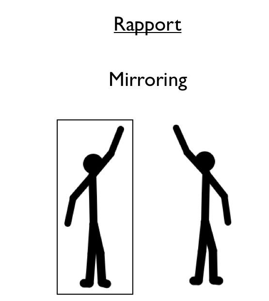 Scan through the excellence assured website and identify some of the NLP techniques (like mirroring) that could be used in coaching situations