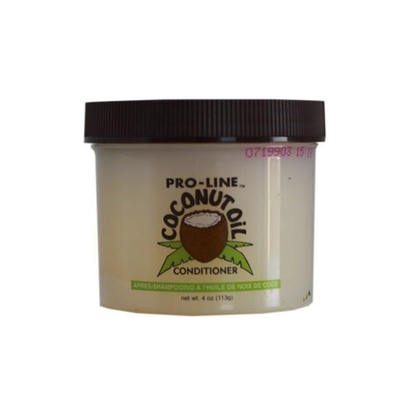 Pro-line kokosolie conditioner    Pro-line kokosolie conditioner        Deze kokosolie conditioner bevat pure kokosolie en andere essentiële verzachtende oliën die het haar zacht maakt en beschermt tegen uitdroging      Voor dagelijks gebruik. Masseer het in je haar en hoofdhuid.         Gebruiksaanwijzing: Gebruik een klein beetje op je handen. Wrijf het goed in, zodat het warm en glijbaar wordt. Verdeel de pro-line kokosolie goed in het haar.