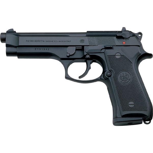 A great classic, the Beretta 98 FS, better known in the U.S.A as M9.