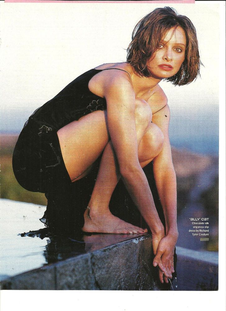 calista flockhart  full page pinup  bare feet