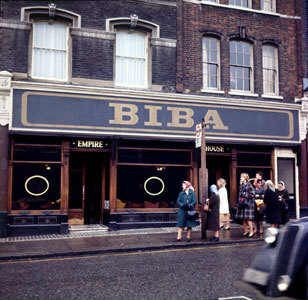 I'm SO lucky to have experienced the glory of Biba London boutique cosmetics as a teen.  Nothing holds a candle to it (Mary Quant was close, but it wasn't Biba).  Biba...I salute you!