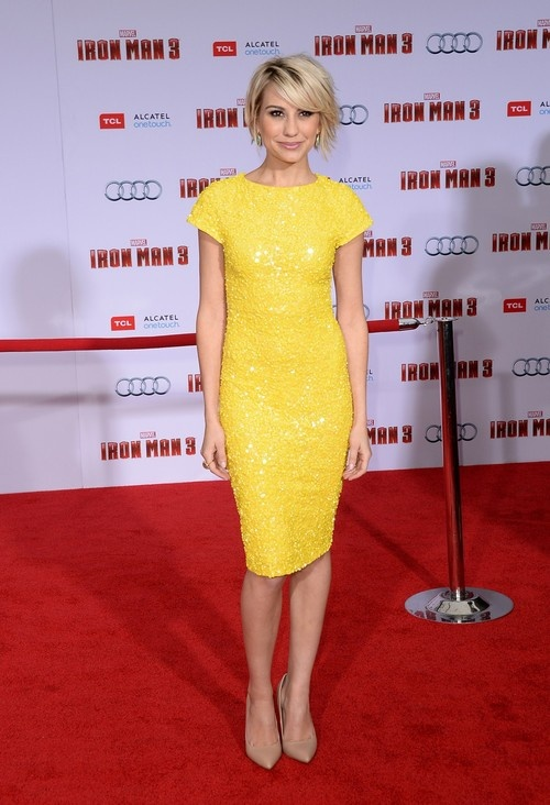 Chelsea Kane at 'Iron Man 3' Premiere in Hollywood on April 24, 2013