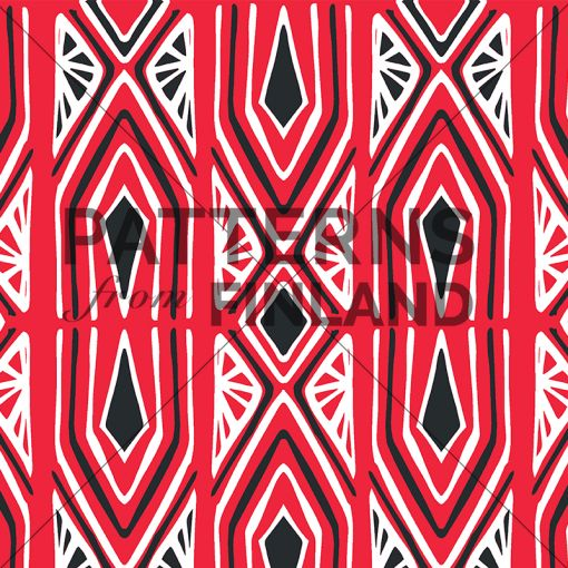 Karelia – Uittotukki by Noora Hattunen  #patternsfromagency #patternsfromfinland #pattern #patterndesign #surfacedesign #printdesign #noorahattunen