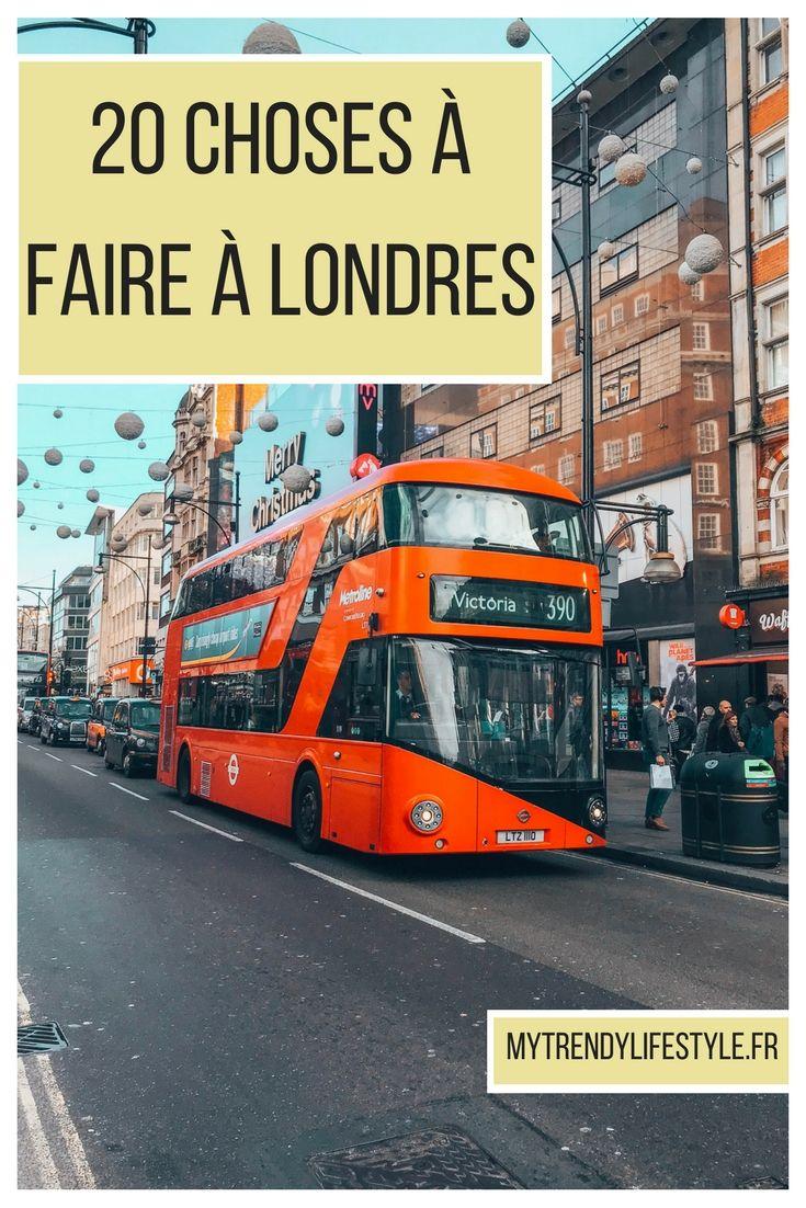 20 choses à faire à Londres #londres #cityguide #conseils #bonnesadresses #mytrendylifestyle