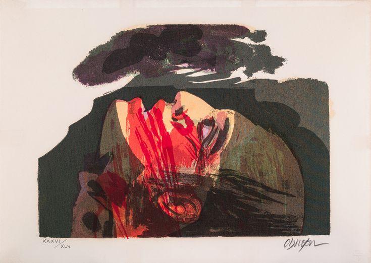El grito de Galán (Del portafolio graficario de la lucha popular en Colombia) | Colección de Arte del Banco de la República