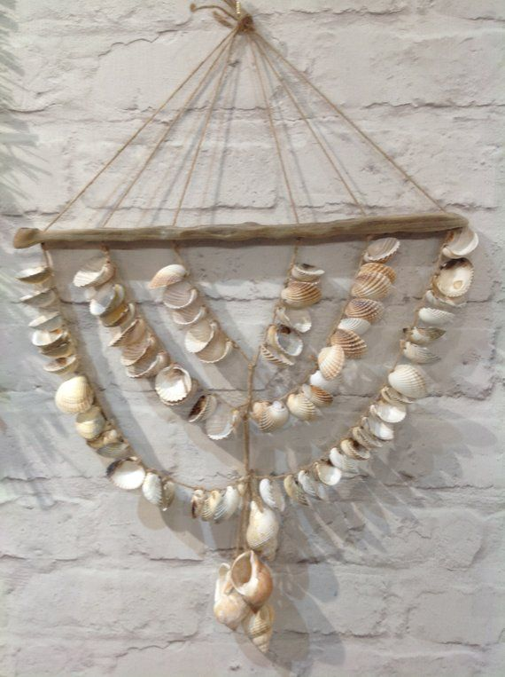 Shells Decorations Drafted Wood Decorations Sea Shell Decor Shell Decorations Wood Decor
