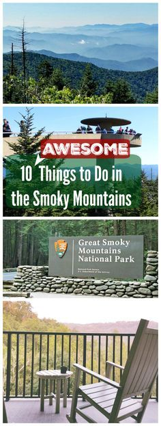 BEST Things to do in the Smoky Mountains – Cades Cove, Clingman's Dome, hikes and more! #sponsored #SmilesAhead