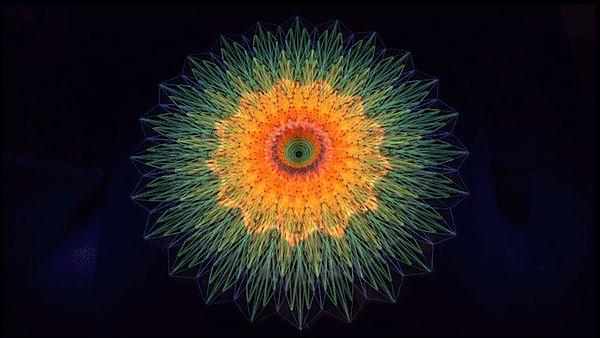 Zdjęcie w albumie String Art Mandalas - Zdjęcia Google