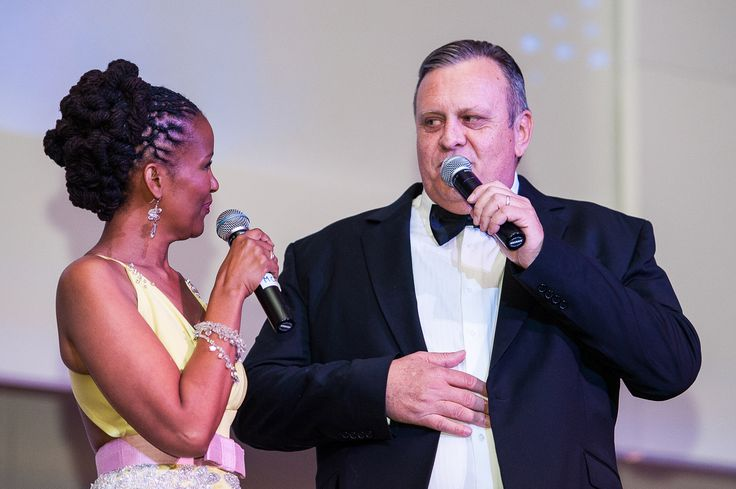 South African personalities Jeremy Mansfield & Gerry Rantseli Elsdon kept the event running at a smooth pace.