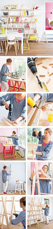 Stappenplan: maak je eigen designkast (drie ladders)