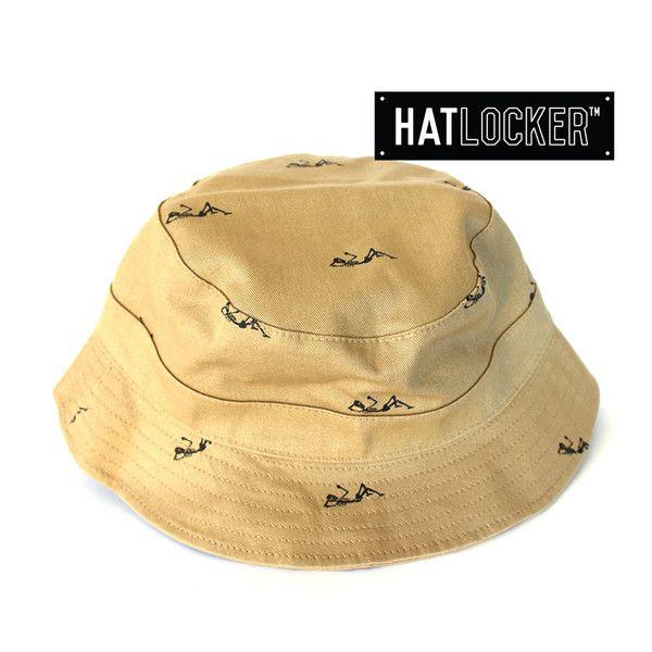 Regiment Reversible Khaki Bucket Hat by Crooks & Castles | Find it at www.hatlocker.com #crooks #castles #buckethat