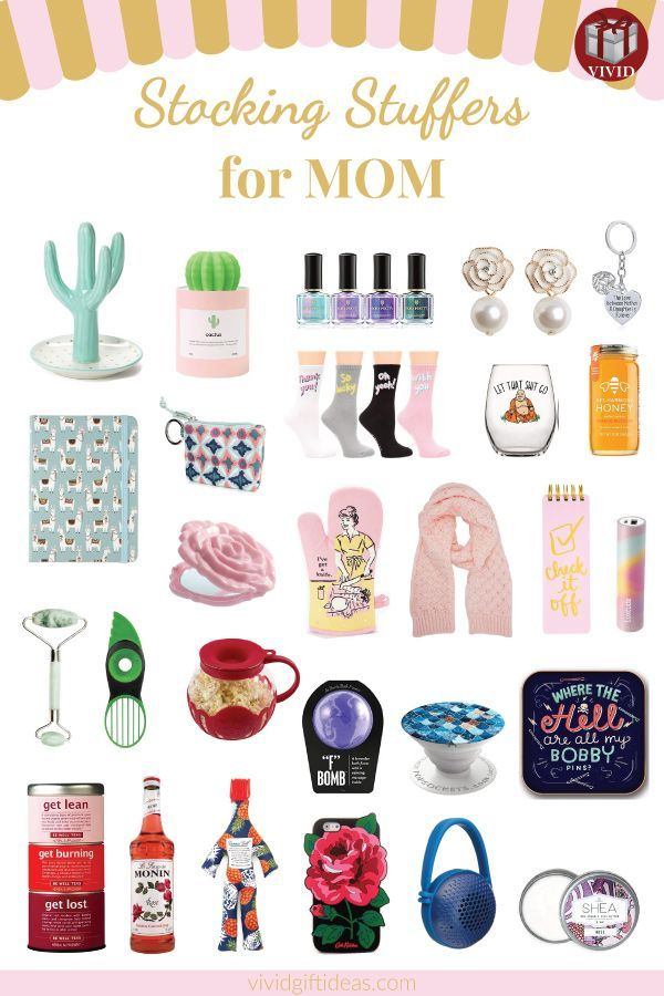 30 Stocking Stuffer Ideas For Mom Small Christmas Gifts For