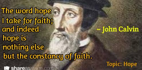an analysis of john calvins impact in christianity John 6:39: and this is the father's will which hath sent me,  there are many conflicting belief systems within christianity which are opposed to calvinism.
