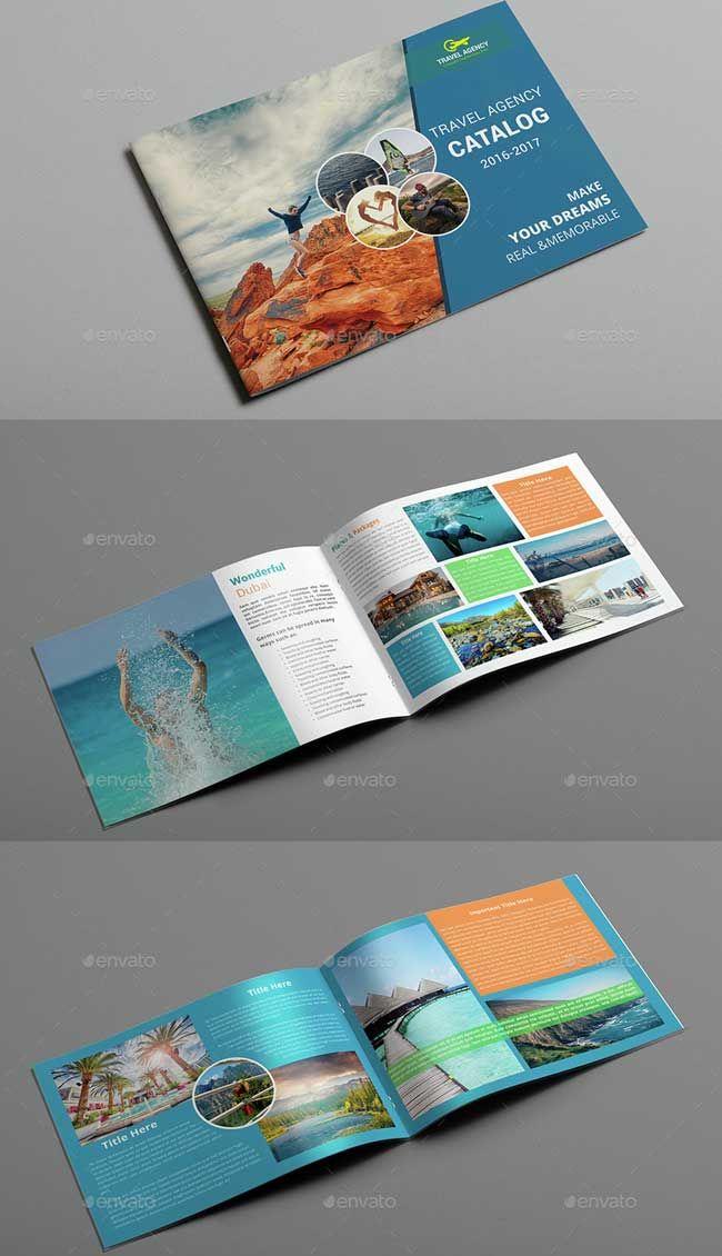 Přes 25 nejlepších nápadů na téma Tourist Agency na Pinterestu - vacation brochure template
