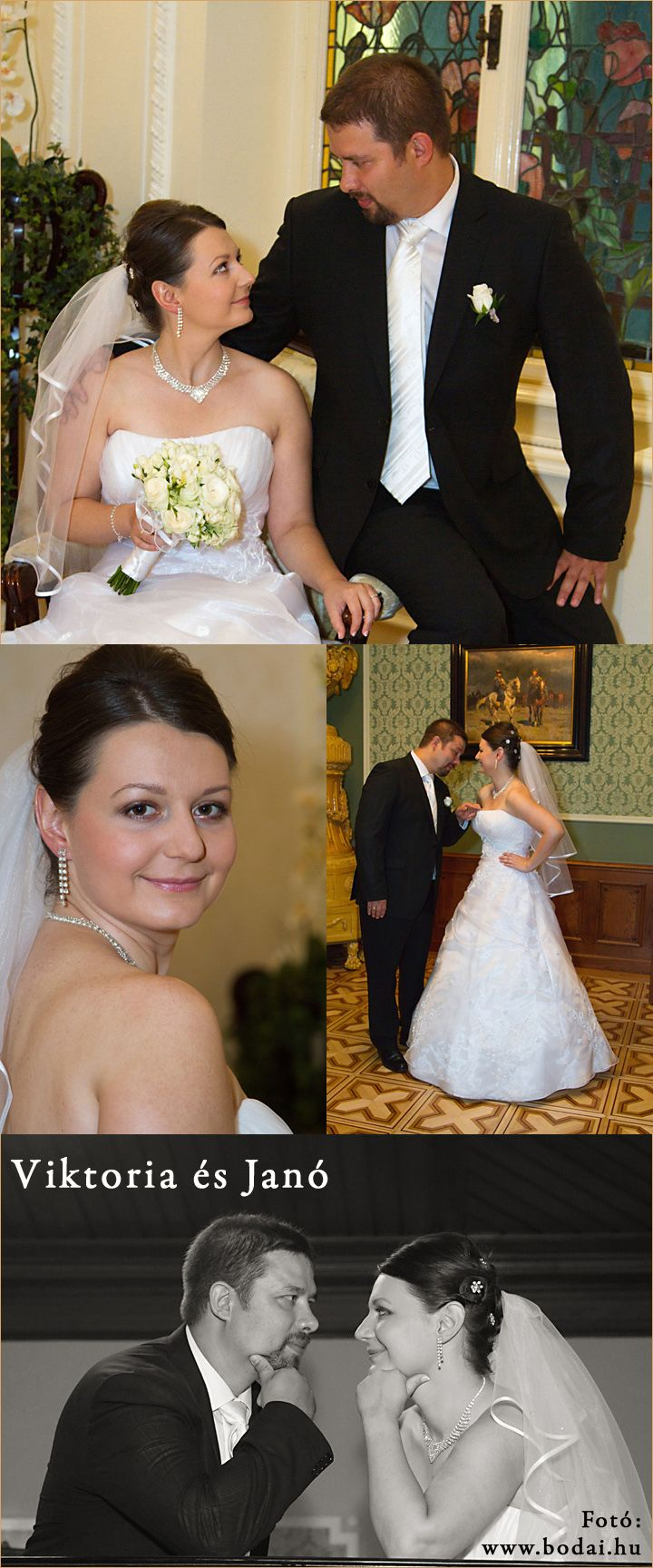 Esküvői fotók a Hubai teremben  http://www.bodai.hu