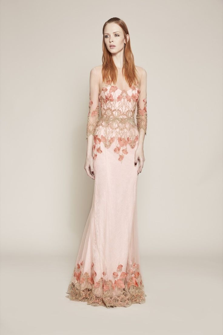 Marchesa Notte, pre spring-summer-2016/ready-to-wear