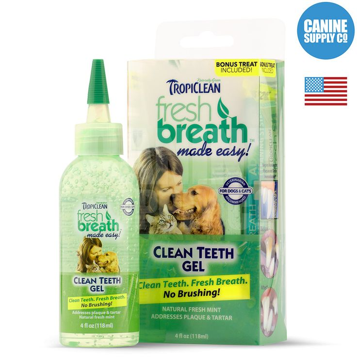 Fresh Breath Clean Teeth Gel Dog Dental Care For Plaque