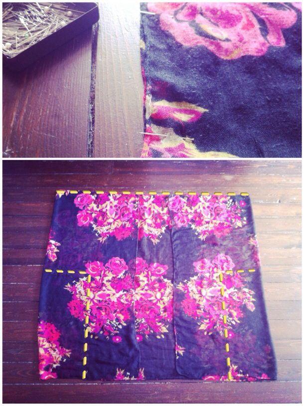 Explications pour faire un kimono