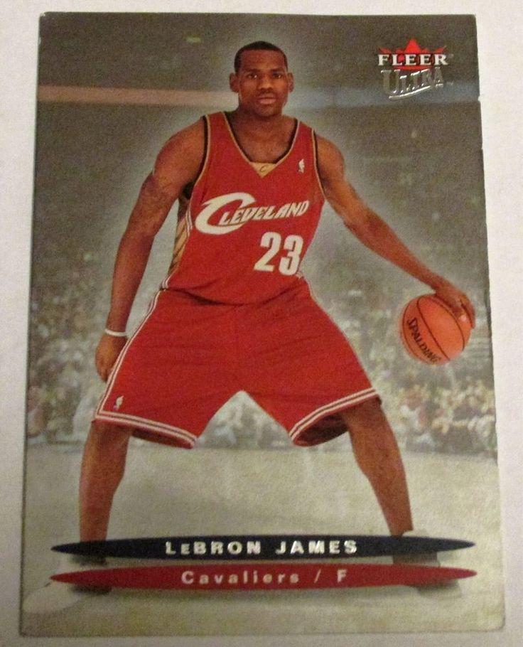 200304 fleer ultra lebron james rookie card