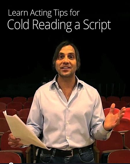 This guy is creepy...but he's an amazing teacher!! He's got some other great acting videos on youtube