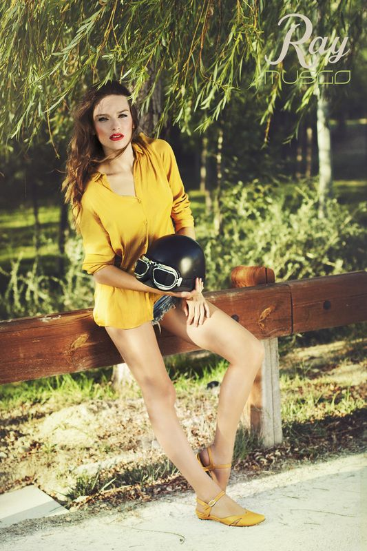 lookbook verano 2015 - RAY MUSGO Zapatos ecologicos de mujer #sandalias #sandals #casco #helmet #moto #motorbike #nature #naturaleza #green #fashion #moda #eco