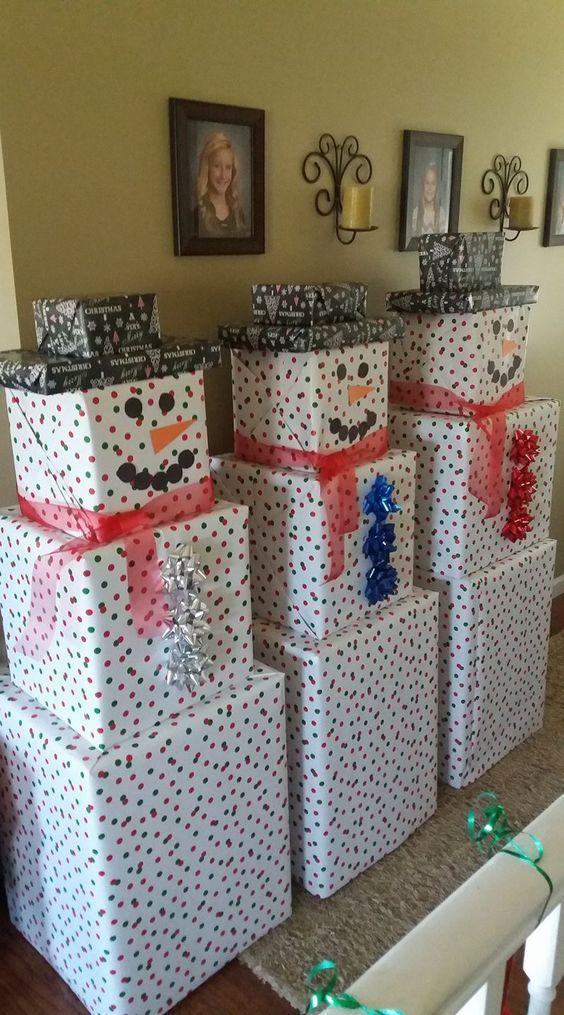 Genius Christmas Gift Wrapping Ideas Kinder werden diese Weihnachtszeit lieben – ~ FRIEN …