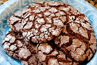 Chocolate cake batter cookies..AH! made this tonight [w/o [powdered sugar] and they are my new favorite cookies!!