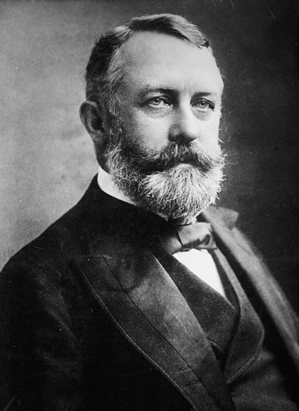 Henry Clay Frick (December 19, 1849 – December 2, 1919) was founder of H. C. Frick & Company, chairman of Carnegie Steel, and a major player in the formation of  U.S. Steel. He also financed the Pennsylvania and Reading Railroads, and owned real estate throughout the state of Pennsylvania. He was known for his anti-union polices and his actions in the Homestead Steel Strike in 1892  where nine workers were killed. The anarchist Alexander Berkman attempted to murder him.